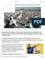 ¿Cuáles son los beneficios de practicar artes marciales? - BBC Mundo