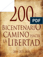 200 Años Bicentenario Camino Hacia La Libertad, 2014-2021-2024