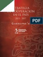 Cooperacion Internacional Para GUATEMALA