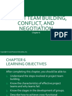 Chapter 6 - Project Team Building, Conflict, & Negotiation