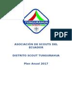 Plan Distrital Scout Tungurahua