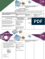 Guía de Actividades y Rúbrica de Evaluación - Paso 1. Trabajo Inicial.