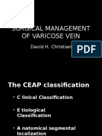DEC - Surgical Management of Varicose Vein