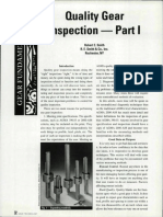 Quality Gear Inspection - Part I