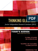 thinking globally jirs 2017