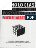 Páginas desdeDocfoc.com-MAFFESOLI Michel - Iconologías. Nuestras idolatrias postmodernas - Peninsula 2009