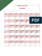 Jadwal November - Copy
