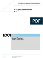 Booking-keeping and Accounts Level-2/Series 4-2008 (2007)