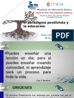 Positivismo y El Conocimiento
