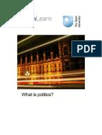 What is Politics