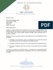 Rep. Eric Johnson letter