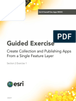 Section2Exercise1-CreateCollectionandPublishingAppsFromASingleFeatureLayer