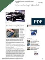Tips & Trik Menghadapi Masalah Mobil_ Tata Cara Pemasangan Tape Mobil