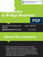 Railway Alignments and Bridge Bearings