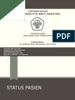 Dias - Peritonsilitis