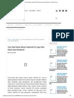 Cara Hard Reset Advan Vandroid S5 Lupa Pola Kunci Atau Password - Repairs Ponsel