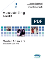 Accounting Level 3/Series 3 2008 (Code 3012)