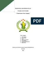 Proposal Business Plan Susu Jagung 4c Tphp