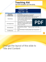 Session 29- MS PPT