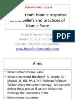 Item 8 – Imam Monawar Hussain