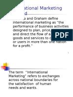 International Marketing study