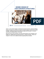 Topic 11 - SeismicDesignofReinforcedConcreteStructuresNotes[1]