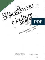 Doroszewski W - O Kulturę Słowa