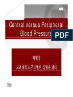 Central BP vs Peripheral BP