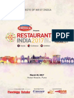 Restaurant India 2017, West India Edition !!