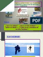 Lic. Cruz B. La Calidad en La Prestación de Servicios Turísticos - UTP