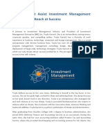 Twyla Garrett Assist Investment Management Enterprise to Reach at Success