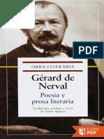 Poesia y prosa literaria - Gerard de Nerval.pdf