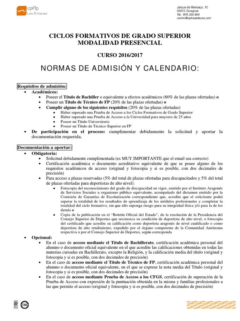 2 Informacion Presencial Grado Superior 2016 17