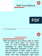 86877098 Well Foundation