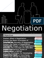 Negotiation Skills Basics