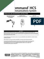 10046197 ClearCommand Helmet Communications System Operation & Maintenance Manual - En