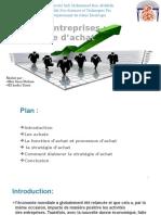 Exposée de Gestion de L'entreprise - stratégie d'achat