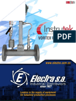 Catalogo Vortex Flowmeter