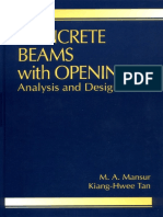 Beam With Opening