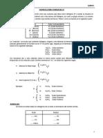 Nomenclatura Inorganica II