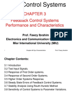 Chapter_3_Feedback Control Systems Performance and Characteristics