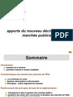 Apports Nouveau Decret MP 07