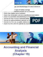 Ch15 Accounting and Financial Analysis