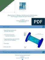 Examples Scc2015 Application Abaqus Analysis Zentech Timbrell
