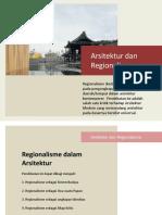 Mingu 13 Referensi Bacaan Arsitektur Regionalisme