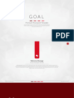 Model Powerpoint Goal Red Clear