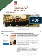 """La UNESCO Declaró El Día de Muertos """"Obra Maestra Del Patrimonio Cultural de La Humanidad"""" _ Pueblos Magicos de Mexico"""