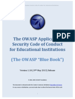 OWASP Blue Book-Educational Institutions