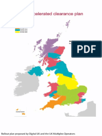 Ofcom Map of D23 700MHz Clearance Rollout Plan