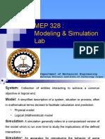 Modeling & Simulation Lab- 1